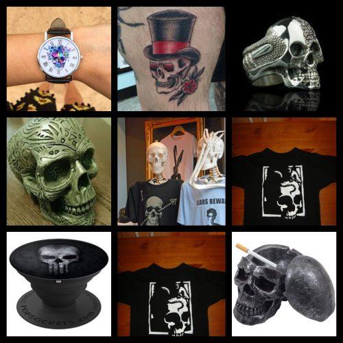 skull stuff for sale